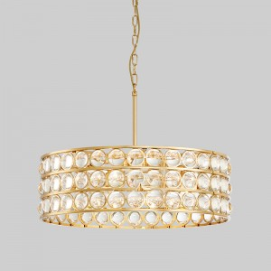 Nuovo Nordic Modern Glass Glass Luxury Home Hotel Chandelier Km2136